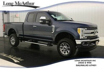 2017 Ford F-250 LARIAT 4X4 SUPERCAB SUPER DUTY NAV MSRP $53525 4WD NAVIGATION LEATHER SEATS REMOTE START REAR CHMSL CAMERA LARIAT VALUE PACKAGE