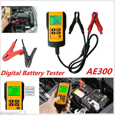 Digital 12V LCD Car Battery Load Tester Analyzer Diagnostic For Flooded AGM GEL