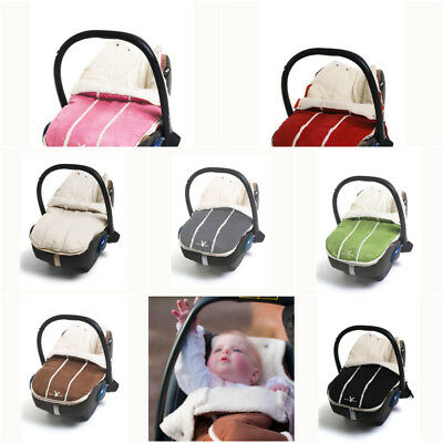 Wallaboo Newborn Car Seat Pram Baby Footmuff Soft Suede Fleece up to 12 months