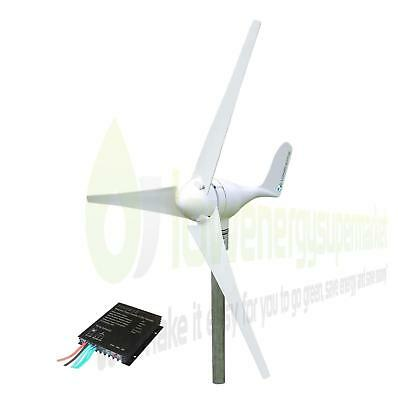 Wind Turbine 100W 12V Generator Kit Boat OffGrid Power Charge Controller UKStock