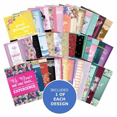 Hunkydory The 2nd Little Book of Quotes & Wisdom - Sample Pack 36 sheets x A6