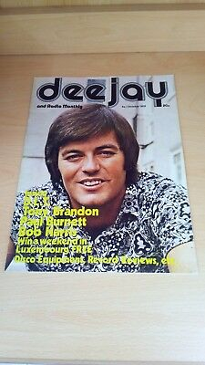 DJ Deejay and Radio Monthly Magazine - Issue 1 October 1972