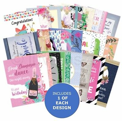 Hunkydory The Little Book of Delightful Verses - Sample Pack 24 sheets x A6