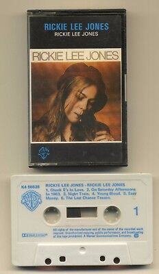 Rickie Lee Jones (1979 Self Titled Cassette. K 456628) Excellent Condition