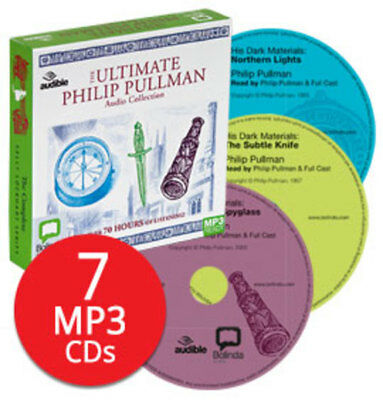 Philip Pullman Audio Book Collection - 7 MP3 CDs