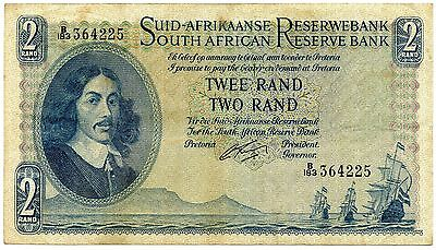 South Africa 2 Rand Banknote 1962