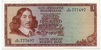 South Africa 1 Rand  Banknote 1967