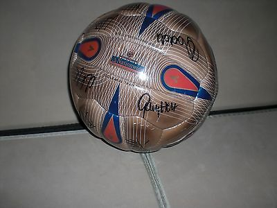 Norwich City Football Club signed Mitre football Gary Holt & more Circa 2003-04.