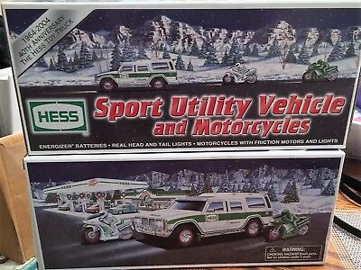 Hess Toy Trucks - New in box (Collection of FOUR SETS)