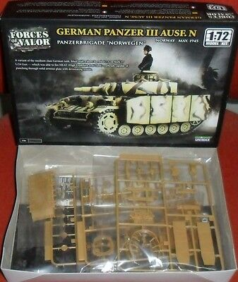German Panzer Ausf.N Forces of Valor 87011 1:72 model kit