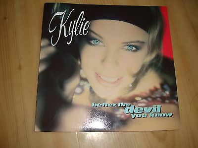"""Kylie-Better Thedevil You Know (Pwl  7"""")"""