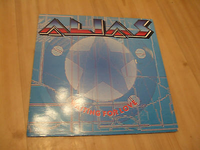"""Alias - Waiting For Love (Capitol 12"""")  (Heart)"""