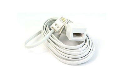10M Telephone Fax Phone Cable Extension Lead Wire Bt