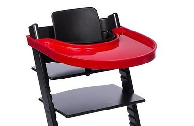 Playtray, Red for Play - Eating Safe Spill Proof Edge Infant  Toddler