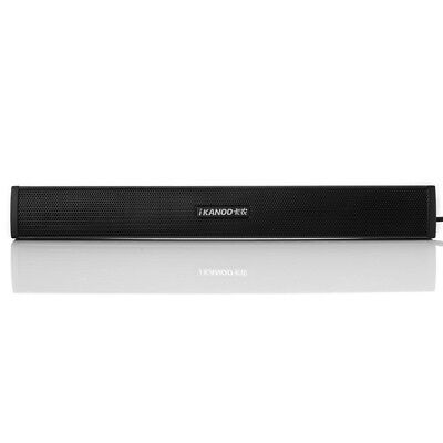 iKANOO N12 Mini Portable USB Laptop Computer PC Speaker Audio Sound Bar Speaker