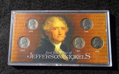 First Five Years Of Jefferson Nickels