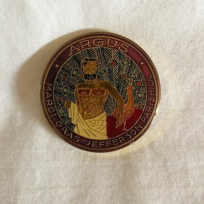 "Argus Cloisonne Doubloon 1979 Full Size 1.5""d Great Condition !"