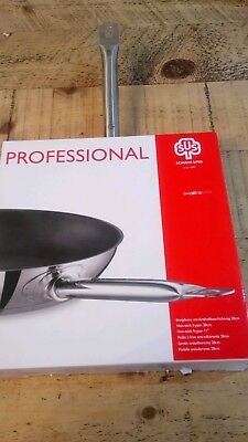 schulte ufer professional 28cm non stick frying pan stainless steel.