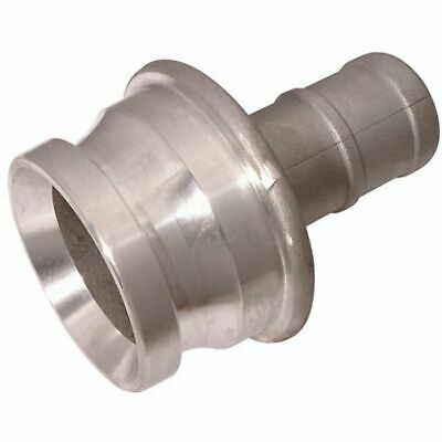 """Male 2.1/2"""" Instantaneous Couplings to 2"""" Hose Tail"""