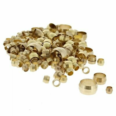 "Imperial Brass Barrel Olives, Size: 5/32""-5/8"" Assorted Pack of 150"