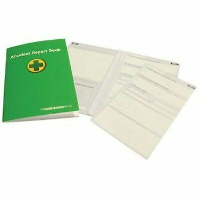 First Aid A5 Accident Reporting Book