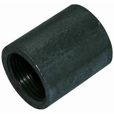 "Weldable Female Sockets, Black, Type 181, 4"" BSP"