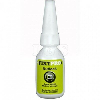 FIXT Nut Lock - 10 ml Bottle for locking & sealing of nuts, bolts