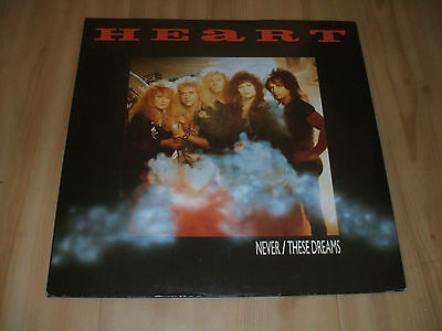 """Heart - Never  [Extended]  (Capitol 12"""")"""