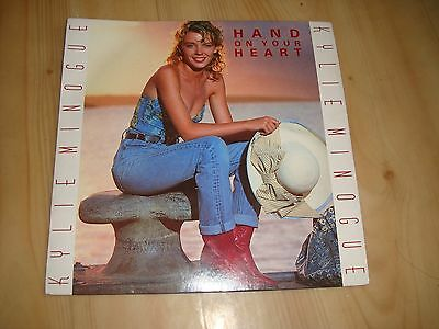 """Kylie-Hand On Your Heart (Pwl  7"""")"""