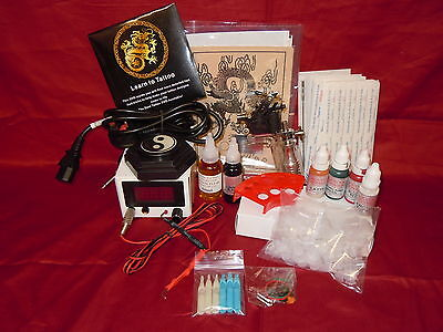 Ss9 Basic Complete Tattoo Kit 1 Rotary Machine Uk Ink And Needles Uk Stock
