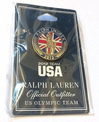 2012 TEAM USA RALPH LAUREN Official Outfitter US OLYMPIC TEAM PIN