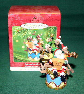 Hallmark Ornament 2001 Kris And The Kringles # 1 In The Kringles Series---Sound