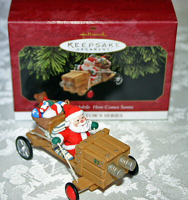 Hallmark 1997 The Claus-Mobile #19 In The Here Comes Santa Series