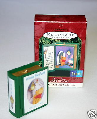 Hallmark Ornament 1999 Honey Time # 2  In The Winnie The Pooh Series
