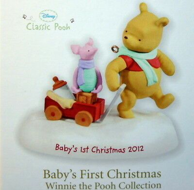 Hallmark Ornament 2012 Baby's First Christmas--Winnie The Pooh Collection