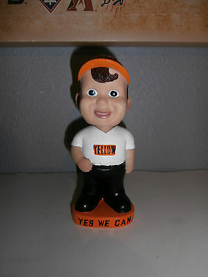 Yellow Freight Bobblehead Yes We Can