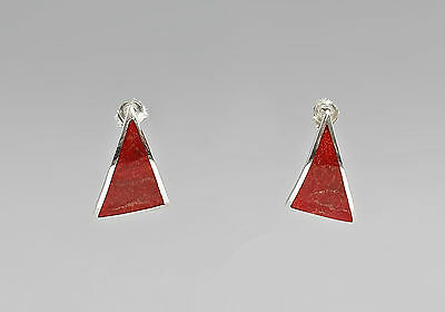 925er Silver fashionable Coral earrings 9907216