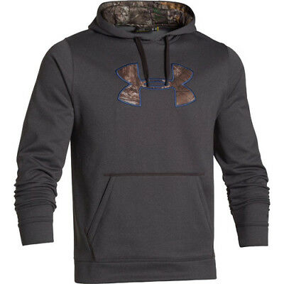 Under Armour 1264916-090-S  Storm 1 Mens Hoodie Heather W/rtxg Small