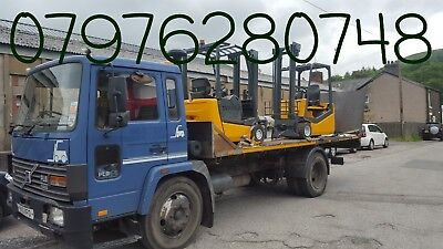 Forklift truck collection and delivery