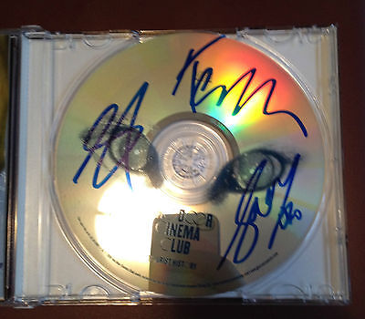Two Door Cinema Club Tourists History Autographed Signed CD COA