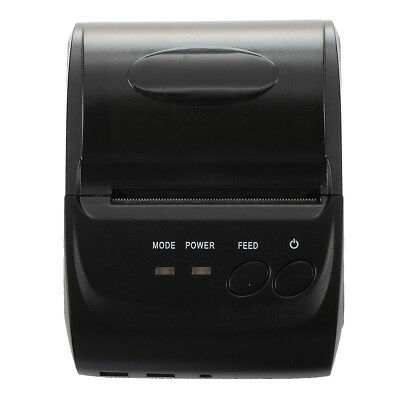 PF 58mm Mini Bluetooth Wireless Thermal Receipt Thermal Printer Printing for Mob
