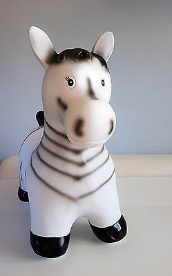 ZEBRA  Animal Hopper Sit & Ride Inflatable play soft fun NEW boxed