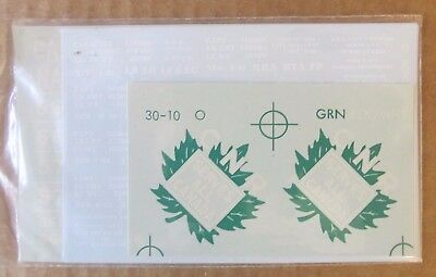 Nos Walthers O Scale Decal -  Canadian National Box Car #936-30100