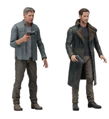 """Blade Runner 2049 Action Figure scale 7"""" Series 1 - 2 pack NECA"""