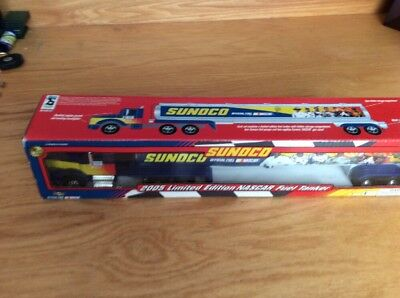 SUNOCO Limited Edition 2005 NASCAR Fuel Tanker NEW Collectible