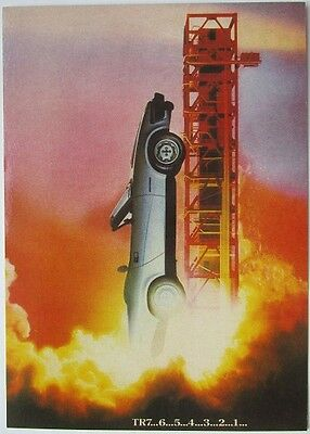 Pack of 15 New Vintage Ad Gallery Postcards: No 161 Triumph TR7