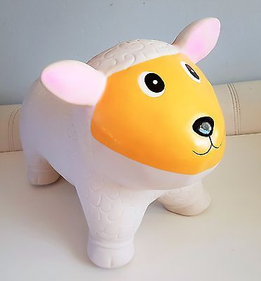 Sheep Animal Hopper Sit & Ride Inflatable play soft fun NEW boxed
