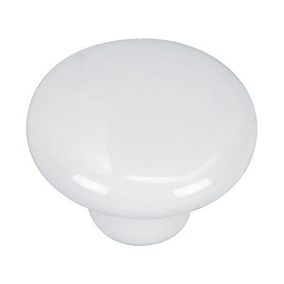 Hardware House Hardware House Porcelain Knob 48-8981 White 1 1/4-in W