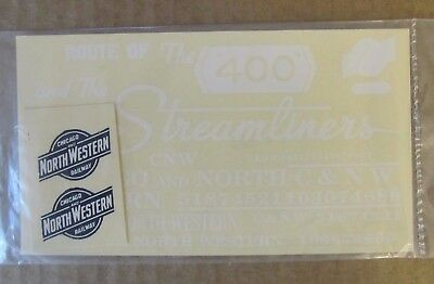 Walthers O Scale Decals -  Chicago North Western Combination Freight #38001