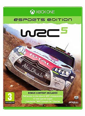 Xbox One WRC 5 Esports Edition Brand New Sealed Game
